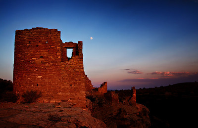 Mooned by Hovenweep Castle
