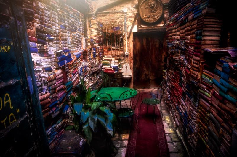 Bookstore on a Wondrous Night