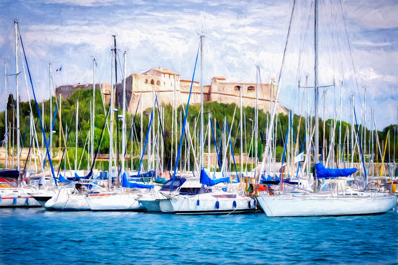 Antibes Harbor
