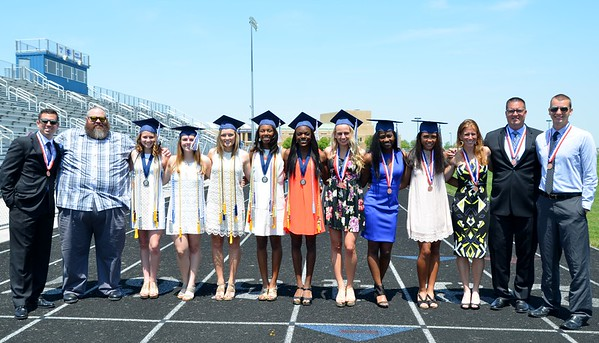 Special Graduation for the track team. (Class of 2016)