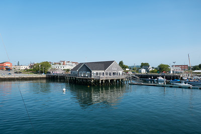 Rockland Harbor, Maine.