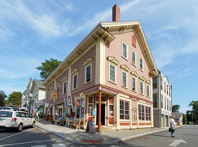 Streets of Castine, Maine.