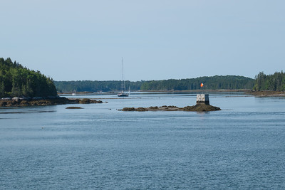 Castine, Maine Harbor area.