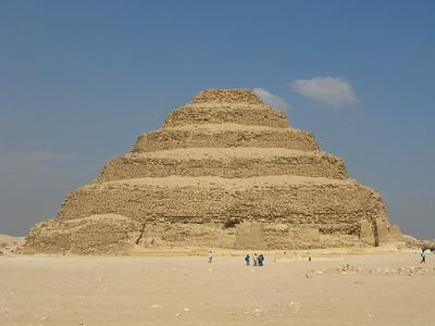Stepped Pyramid at Saqqara. The pyramid was constructed ca. 2700 BC.