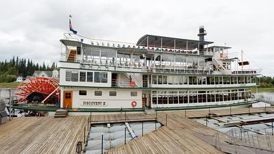 Riverboat Discovery in Fairbanks, Alaska.