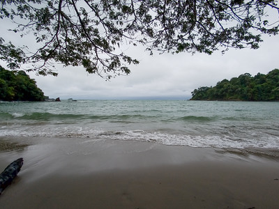 The Pacific Ocean from Manuel Antonio National Park in Costa Rica.