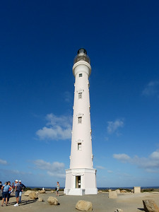 The California Lighthouse on Aruba.