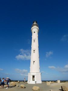 The California Lighthouse on Aruba.