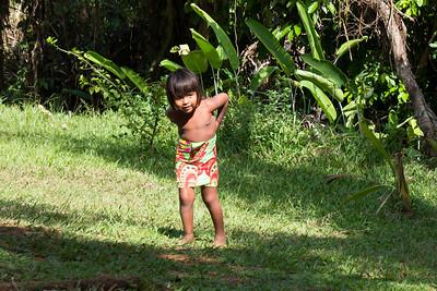 Embara Native girl.