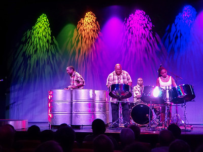 Excellent Steel Drum Band performance on the Zuiderdam