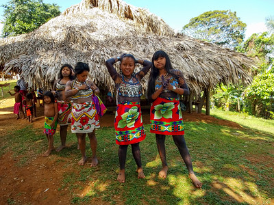 Welcome group of the Embara Village females.