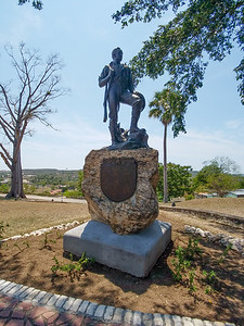 Memorial at San Juan Hill in Santiago de Cuba.