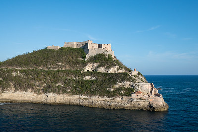 Morro Castle at the Harbor entrance, Santiago de Cuba.