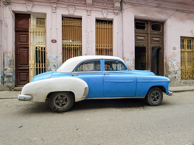 The streets of Havana, Cuba.