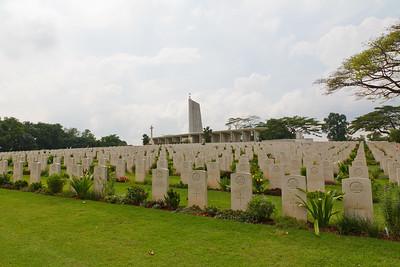 A small portion of the Kranji War Memorial - Singapore.