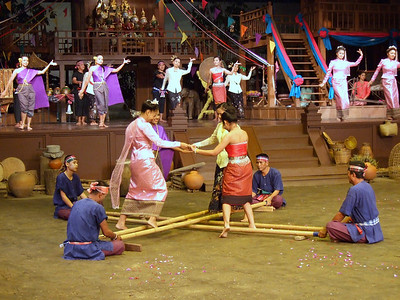 A Thailand cultural performance at the Rose Garden, Bangkok, Thailand.