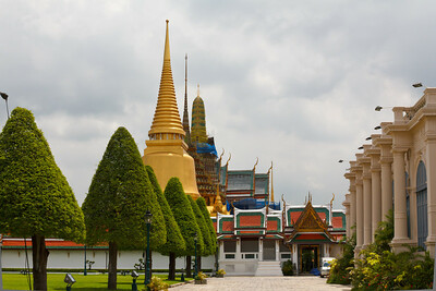 The Grand Palace - Bangkok, Thailand.
