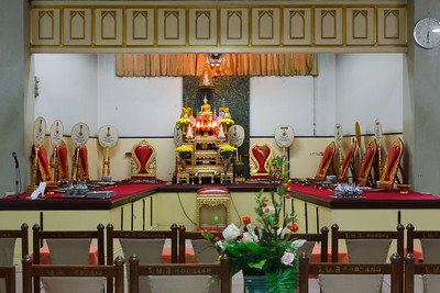 The Wedding's Ceremonial area.