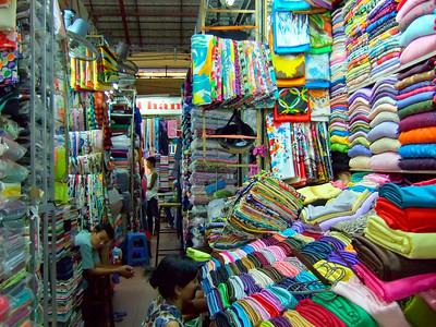 Ben Thanh Market in Saigon, Vietnam.