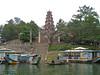The Thien Mu Pagoda seen from the Perfume River, Vietnam.