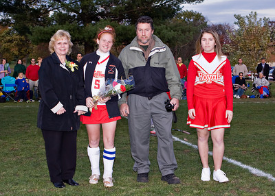 Redeemer Field Hockey Senior Night 102009 15
