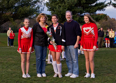 Redeemer Field Hockey Senior Night 102009 05