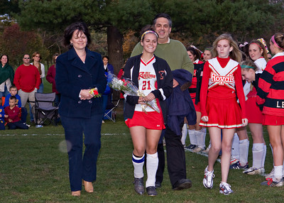 Redeemer Field Hockey Senior Night 102009 17