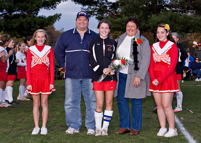 Redeemer Field Hockey Senior Night 102009 10