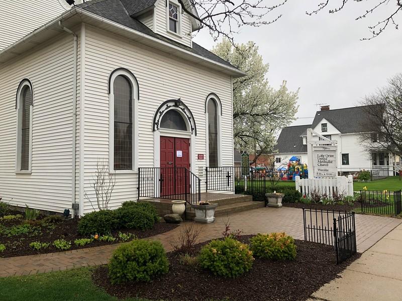 Lake Orion United Methodist Church in downtown Lake Orion. Stephen Frye / Digital First Media.