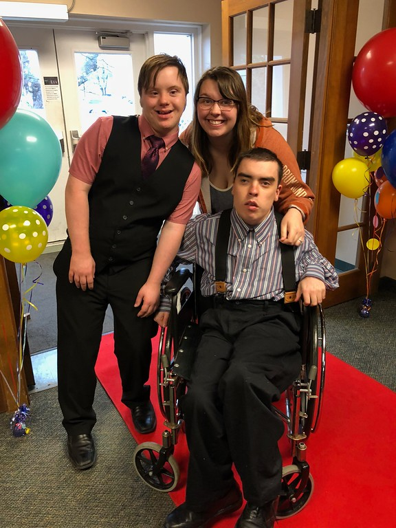 . Arriving at the Lake Orion United Methodist Church and its Special Needs prom on Friday, May 11, 2018. Stephen Frye / Digital First Media.