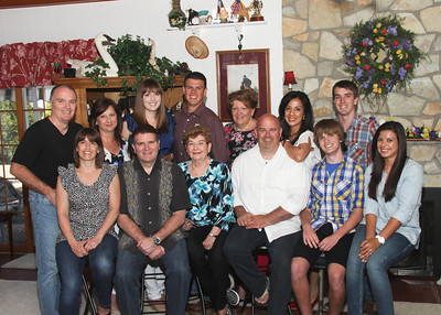 Ann Seidel's Birthday Celebrated with family April 27, 2013