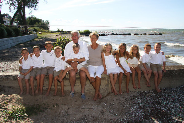 Arnold Family in Vermilion, Sept 2. 2013