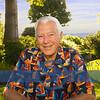 july 22 John, sitting in backyard 9474