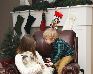 December 21, 2017. Chris Mallett family