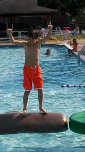 Justin 10th Birthday - Splashdown
