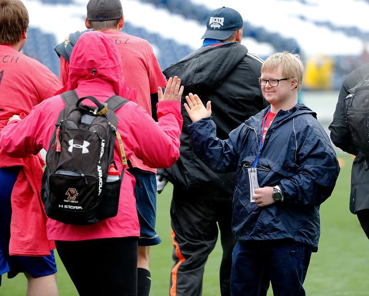 Special Olympics Flag Football Tournament on April 23, 2017. Photos by Donn Jones Photography.