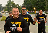 Members of the Brattleboro Police Department run with a torch from the old police station, at the Municipal Center in Brattleboro, Vt., to the Dummerston, Vt., town line for the annual Law Enforcement Torch Run for Special Olympics Vermont on Wednesday, Sept. 15, 2021. The run was canceled last year because of the COVID-19 pandemic.