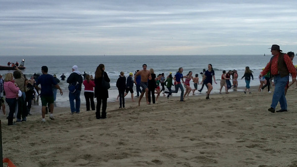 Sounds of the Polar Plunge - Cool School Challenge, The Plunge.