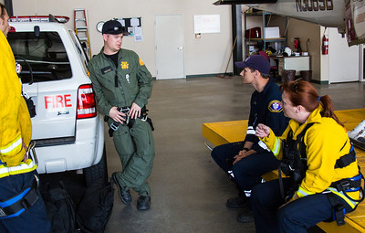 Hoist Training, Apple Valley Airport (By Brandon Barsugli) Sherwin, Deshon, Stine
