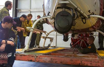 Hoist Training, Apple Valley Airport (By Brandon Barsugli) Prater, Deshon, Spies, Stein