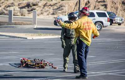 Incident number: 14-024934 Air Rescue transporting patient of a medical call Station 10s area(By Brandon Barsugli)