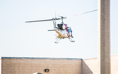 Incident number: 14-024934 Air Rescue transporting patient of a medical call Station 10s area (By Brandon Barsugli)