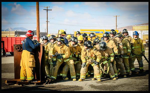 Fire Explorer Academy Ft. Irwin, Dec. 2014