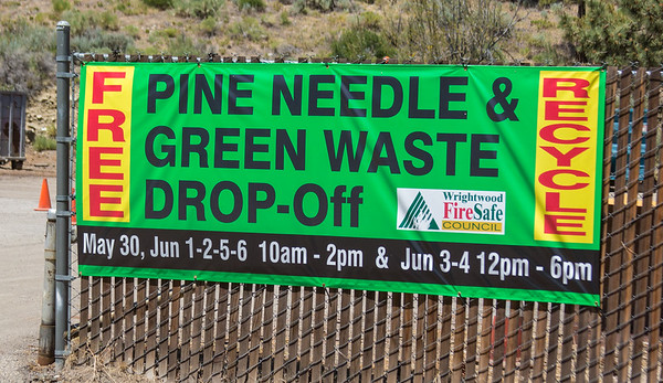 Wrightwood Green Waste Event 2015