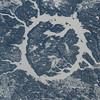 Manicouagan Reservoir (originally an impact crater), Quebec, Canada