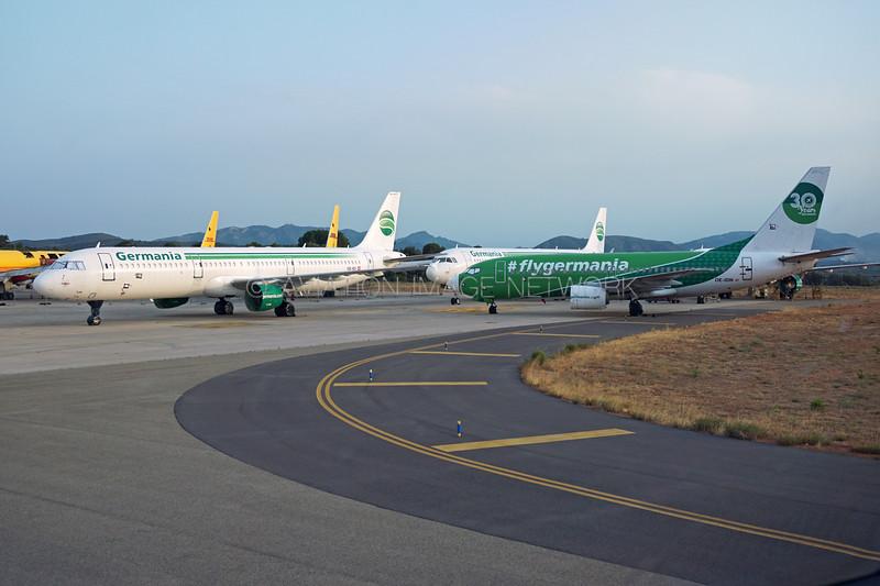 OE-IDI | Airbus A321-211 | OE-IDN | Boeing 737-75B | Germania