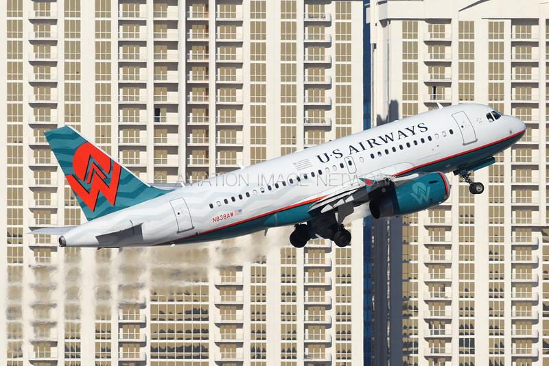 N838AW | Airbus A319-132 | US Airways