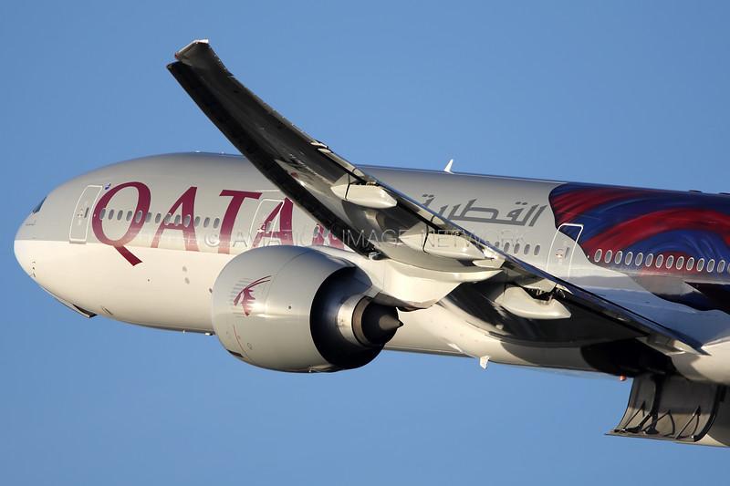 A7-BAE   Boeing 777-3DZ/ER   Qatar Airways