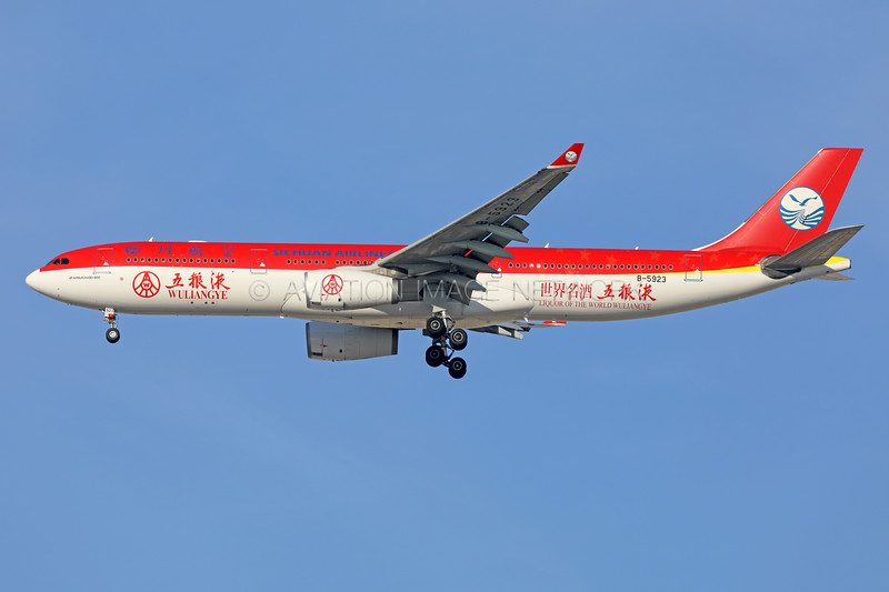 B-5923   Airbus A330-343   Sichuan Airlines