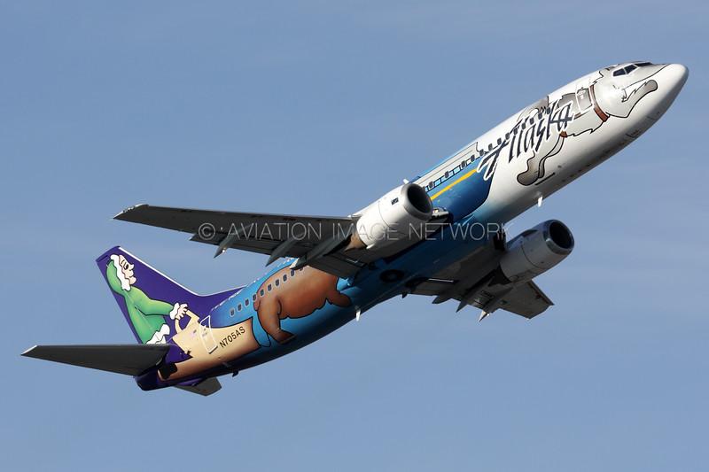 N705AS | Boeing 737-490 | Alaska Airlines